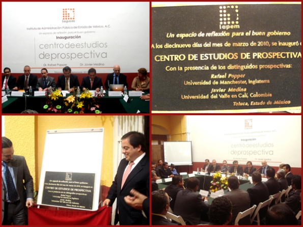 Opening of the Foresight Studies Centre (CEP, Toluca, Mexico)